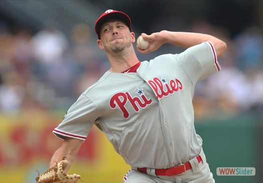 Drew Smyly gave up 2 runs in 6.1 innings, as the Phillies lost to the Nationals 5-2 on Wednesday.