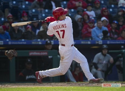 Rhys Hoskins; The new face of the Phillies.