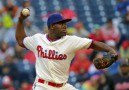 Hector Neris gave up the tying and winning runs as the Nationals beat the Phillies 4-3 on Monday.